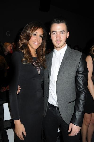 Danielle and Kevin Jonas