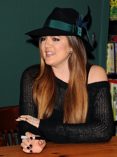 Khloe Kardashian&#039;s ombre haircolor