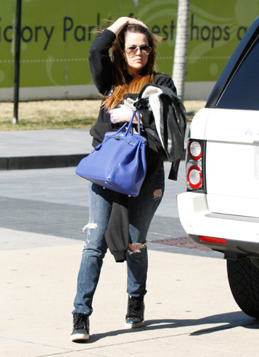 Khloe Kardashian out and about in Dallas, Texas