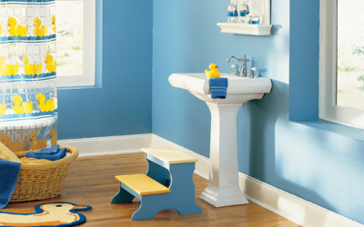 Duckies - Bathroom decorating ideas