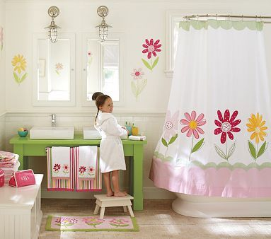 Daisy Garden Kids' Bathroom