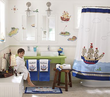 Kids' Pirate Bathroom