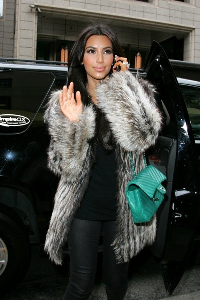 Kim Kardashian out on the town