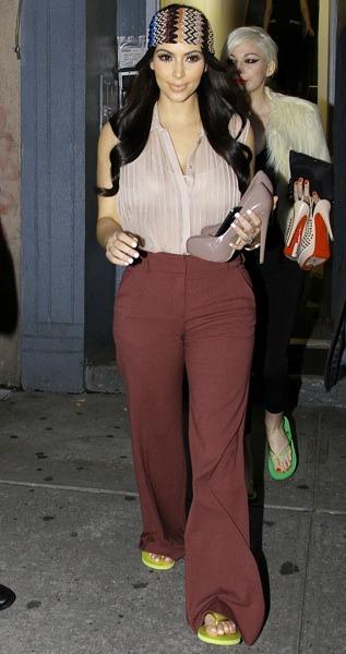 Kim Kardashian's sixties style
