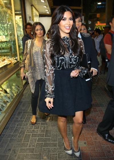 Kim Kardashian's business style