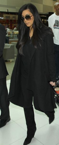 Kim Kardashian incognito