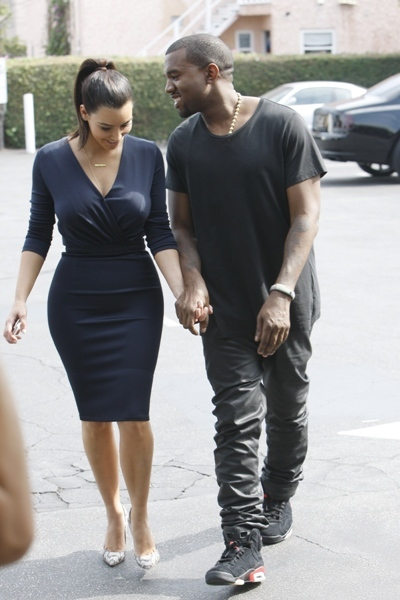 Kimye out for lunch