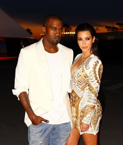 Kimye at Film premiere at Cannes film festival