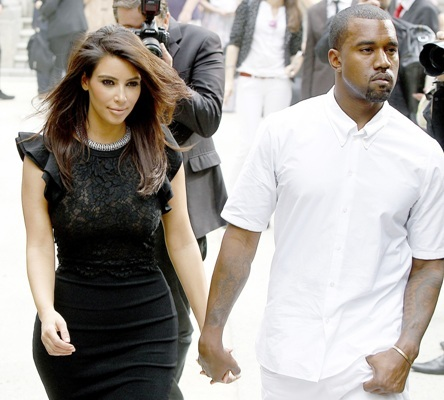 Kimye at Paris Fashion Week