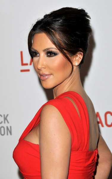 Kim Kardashian's Sophisticated 'do