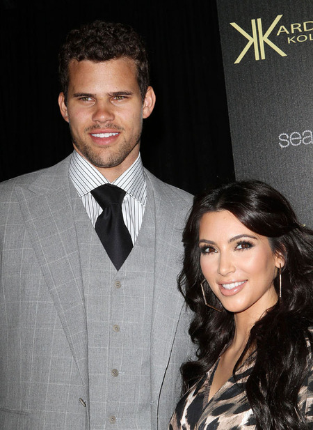 Kim Kardashian &amp;amp; Kris Humphries (August 2011)