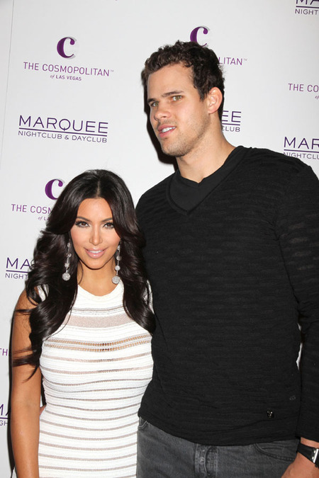 Kim Kardashian & Kris Humphries (October 2011)