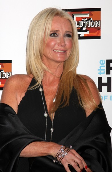Kim Richards at RHOBH season 3 premiere.