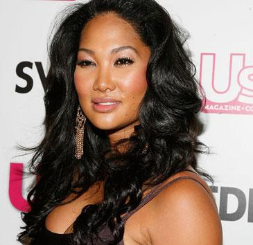 Kimora Lee Simmons poses