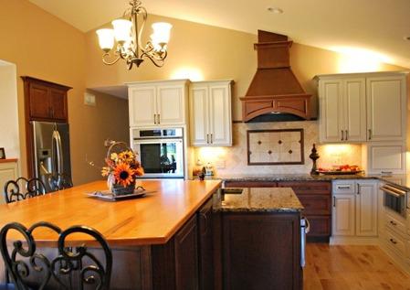 New-age cottage kitchen