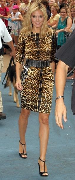 Heidi Klum's daytime style