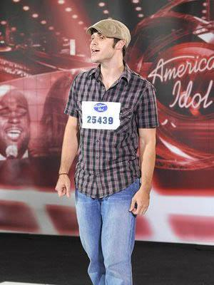 Conway, Arkansas native Kris Allen at Season Eight auditions
