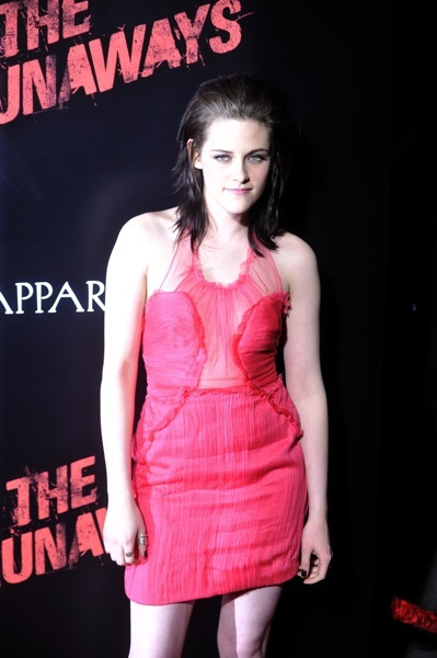 Kristen Stewart in sheer fabric