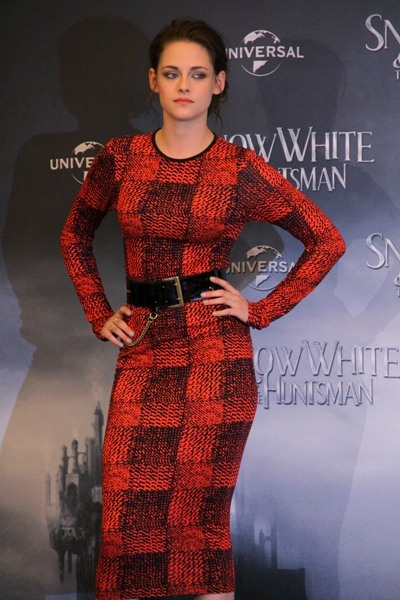 Kristen Stewart sweater dress