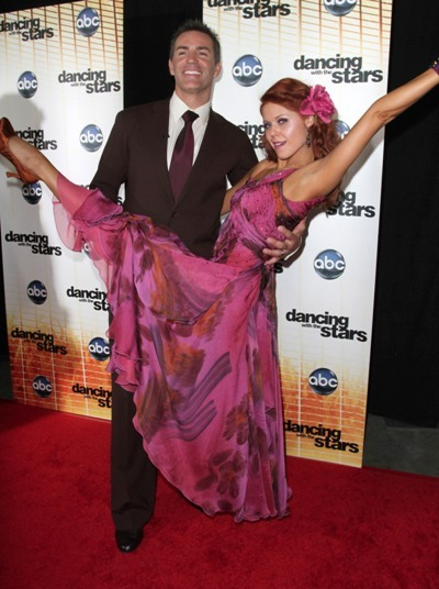 Kurt Warner and Anna Trebunskaya at the DWTS Season Premiere