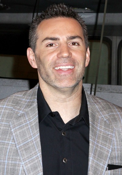 Kurt Warner is all smiles at the launch of the 'Those Who Protect Us' campaign