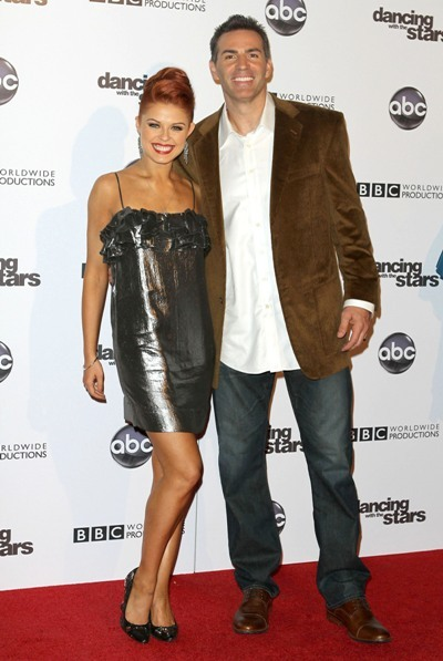 Kurt Warner with Anna Trebunskaya of DWTS
