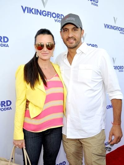 Kyle Richards and husband