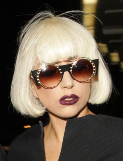 Lady Gaga's latest hairstyle