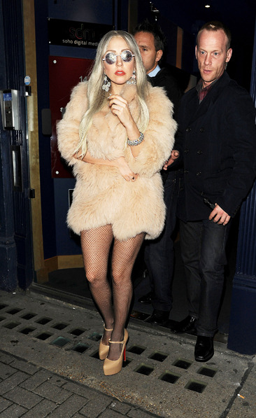 Lady Gaga goes pants-less