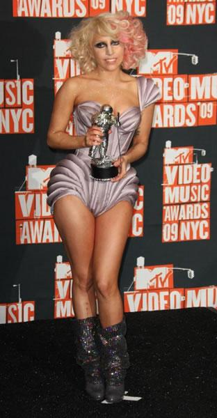 Another outfit for Lady Gaga at the VMAs