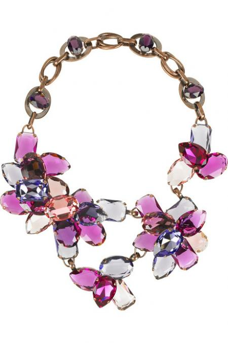 Lanvin Strass Crystal Necklace