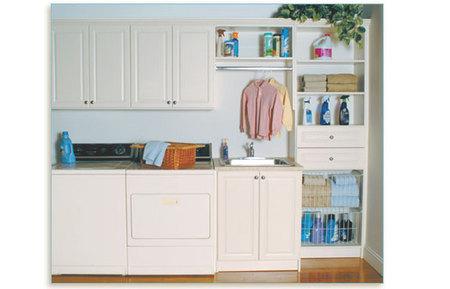 Custom Build Laundry Area