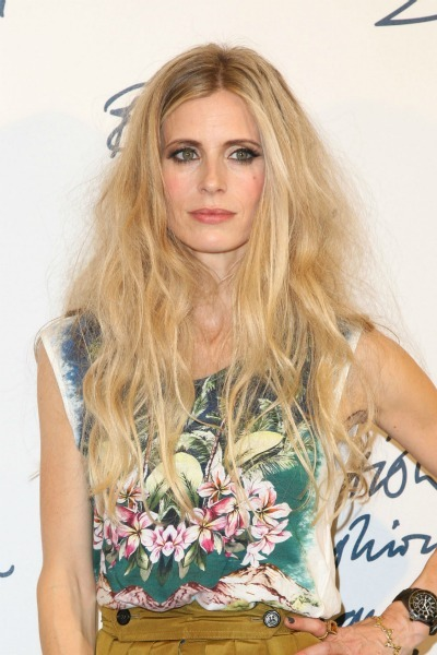Laura Bailey's bohemian waves