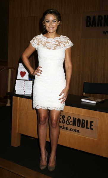 Lauren Conrad in lace