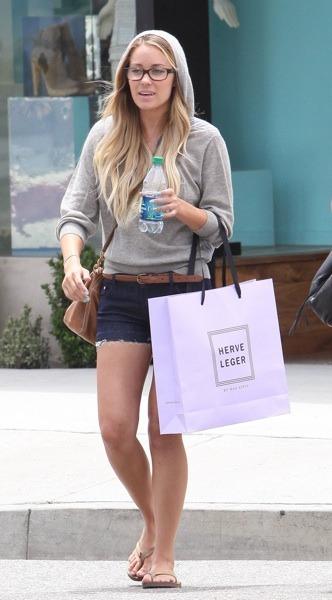Lauren Conrad in cut-off shorts