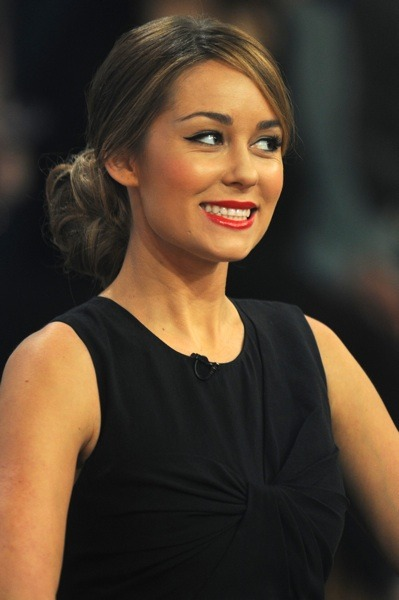 Lauren Conrad with red lipstick