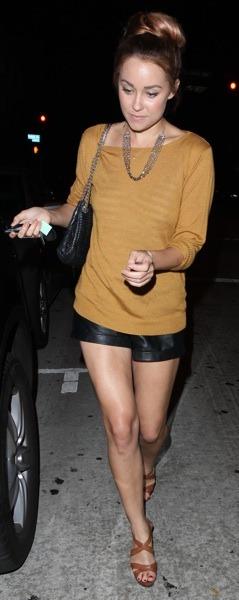 Lauren Conrad in long sleeves
