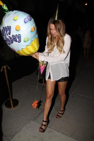 Lauren Conrad on her birthday