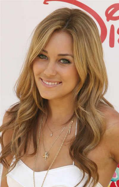 Lauren Conrad long waves