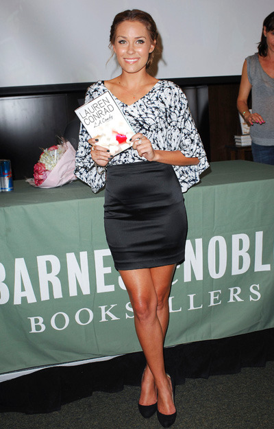 Lauren Conrad does a book signing at Barnes &amp;amp; Noble