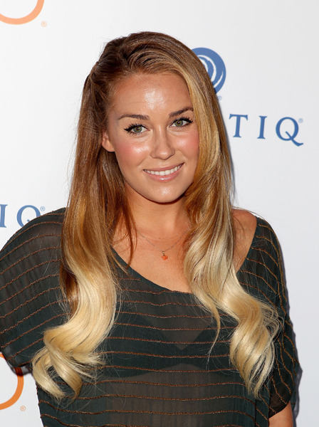 Lauren Conrad goes ombre