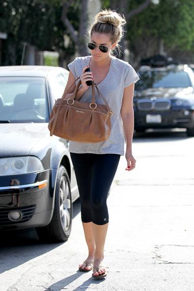 Lauren Conrad leaves Kate Somerville skin care clinic