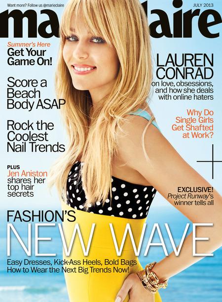 Lauren Conrad, Marie Claire July 2013