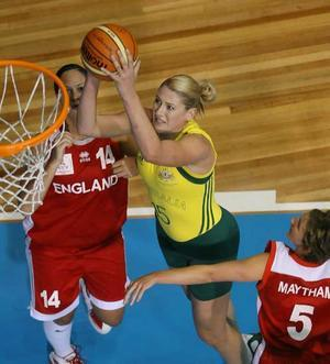 Lauren Jackson Plays Against England