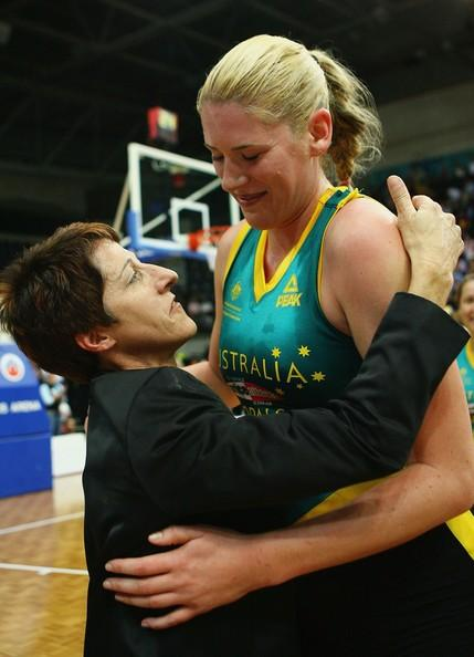 Lauren Jackson and Jan Stirling
