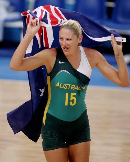 Lauren Jackson Australian Flag