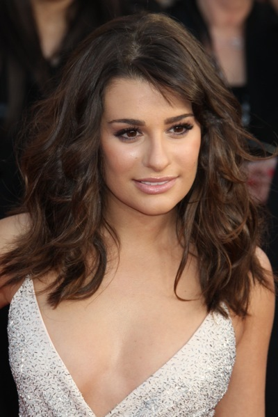 Lea Michele's hairstyle