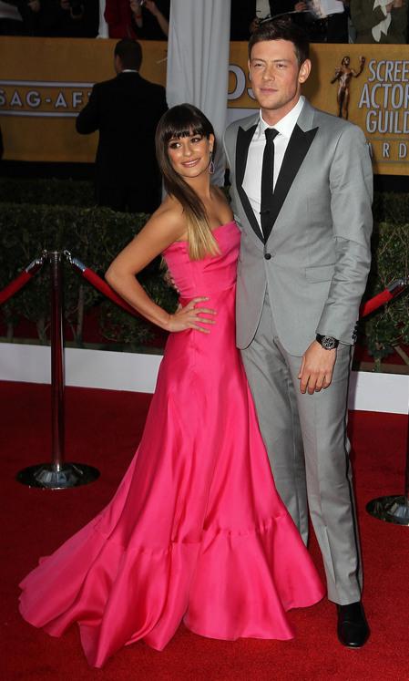 Lea Michele & Corey Monteith