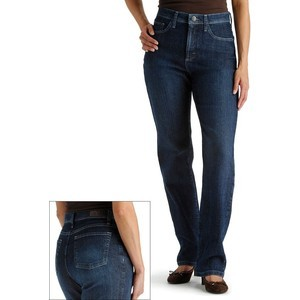 Lee Classic Fit Slimming Straight Leg Jeans