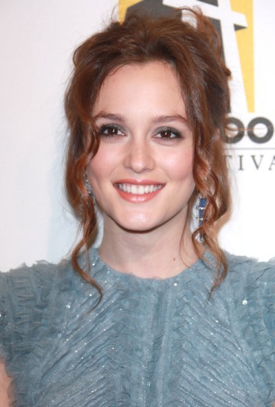 Leighton Meester's Long Tendrils